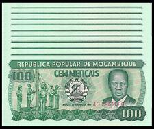 MOZAMBIQUE 100 METICAIS 1983 P 130 UNC 10 PCS 10 NOTES