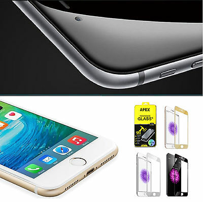 3D Curved Full Cover Tempered Glass Screen Protector for iPhone 7 / 7 Plus