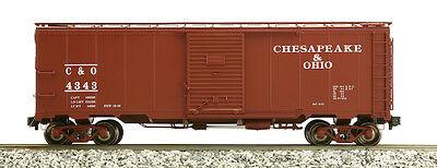 Accucraft Am32-556 Aar Box Car - Chesapeake & Ohio, Verschiedene Nummern, C&o Hitze Und Durst Lindern.