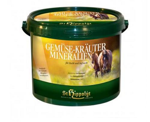 St. Hippolyt Gemüse Kräuter Aufzucht Mineral 25kg  /kg Aufzucht Kräuter Mineralien 7a97cb