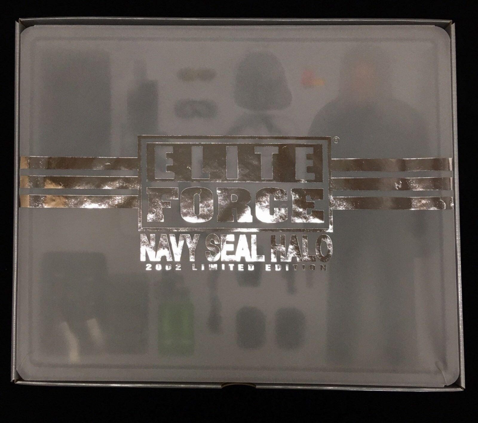 BBI 1 6 Elite Force Navy Seal Halo  2002 Limited Edition  RARE - 21083