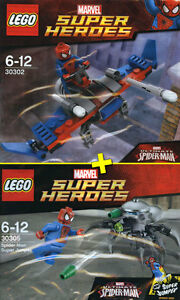 LEGO Super Heroes #30302, #30305 - Spider-Man Glider + Super Jumper - NEW