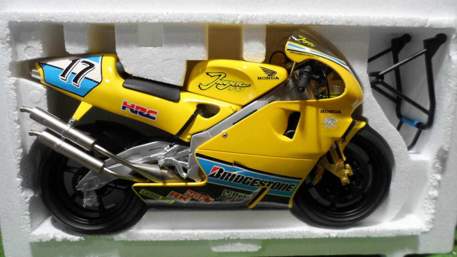 MOTO HONDA NSR 500  17 Jurgen vd GOORBERGH giallo 1 6 GUILOY 16271 miniature