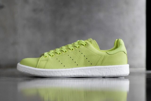 best loved outlet online good out x Adidas Mens Stan Smith Boost Trainers Shoes Lime Green BA7436 UK 12, 13,  13.5