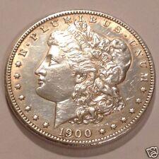 1900 Morgan Silver Dollar $1 AU