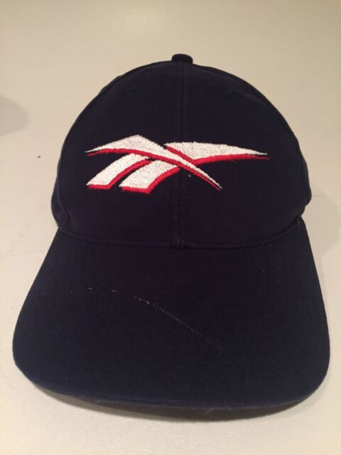 Vtg 80s 90s Reebok Hat Ball Cap Lid Adjustable Strapback  Fast Shipping
