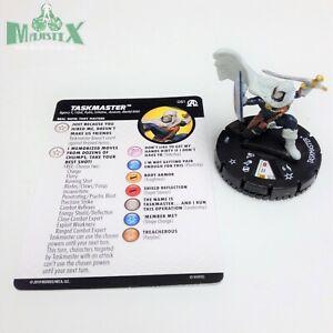 Heroclix-Avengers-Black-Panther-amp-Illuminati-set-Taskmaster-061-Super-Rare