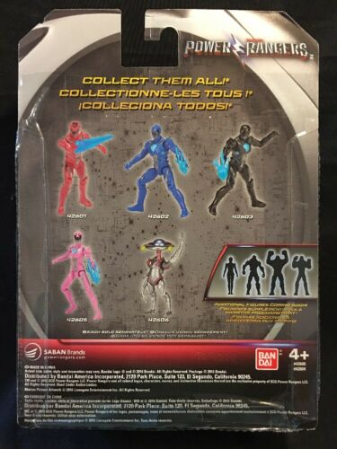 Action Figure New 2016 Power Rangers Mighty Morphin Movie Yellow Ranger 5in