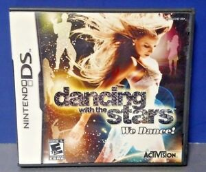 Dancing-w-the-Stars-Dance-Nintendo-DS-DS-Lite-3DS-2DS-Game-Complete-Tested