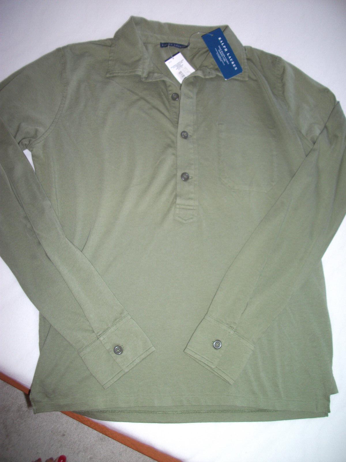 Orig. Ralph Lauren - sportliches,bequemes Shirt mit langer Knopfleiste Gr.L NEU