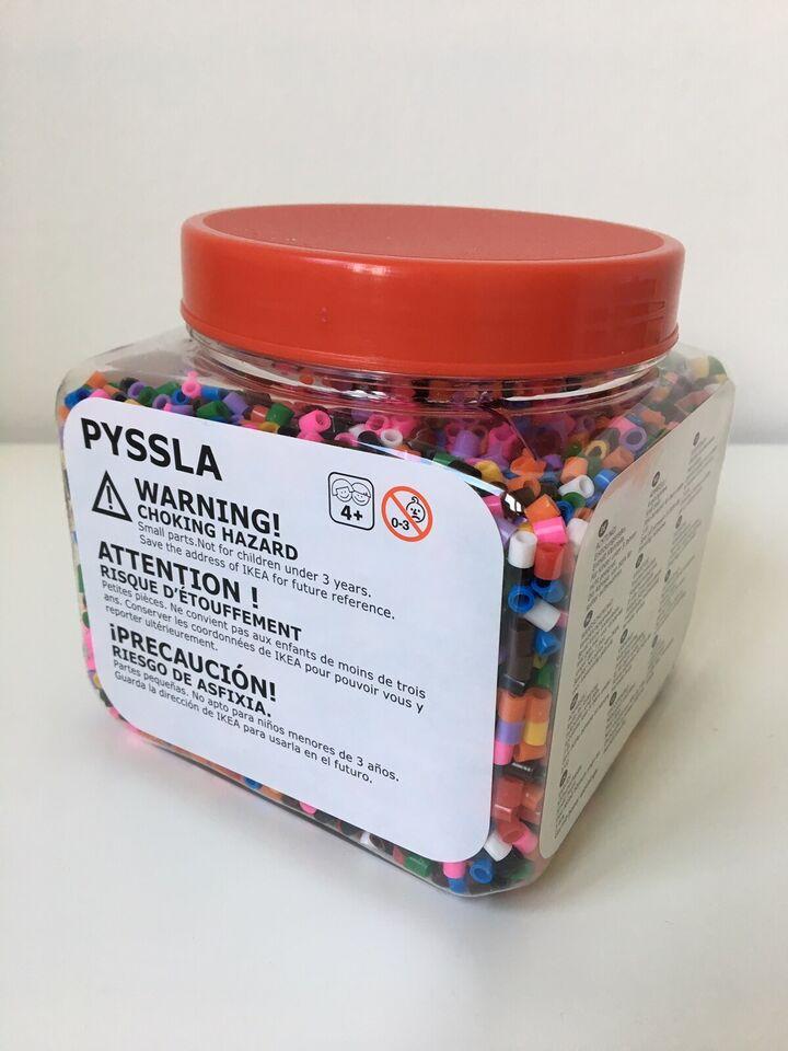 Perler/plader, Ikea Pyssla, Ikea