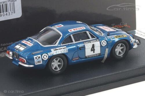 Alpine Renault a110 RAC Rally 1971 Andersson//phillips-Trofeu 1:43 Rruk 23
