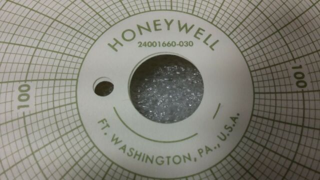 2 Boxes of 100 Honeywell 24001660-030 Recording Charts