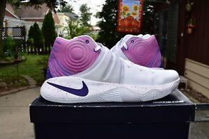 Details about Nike ID Kyrie 2 PRM Krispy Kreme 843253-992 Purple Men s Size  16 NEW a19002faf