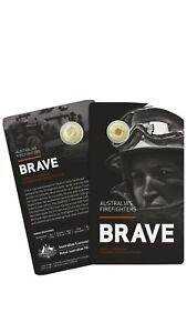 2020 $2 C Mintmark Firefighters Official RAM Mint Coin Brave