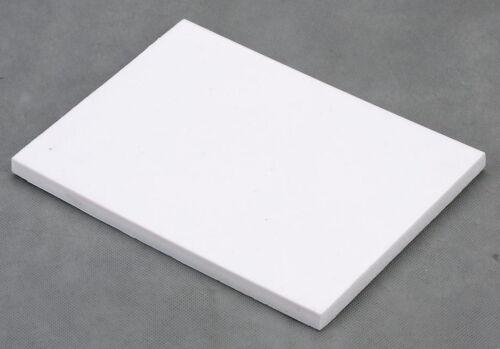 HDPE PLASTIC SHEET 300 mm x 214 mm x 30 mm VERSATILE WORK CRAFT FREE POST