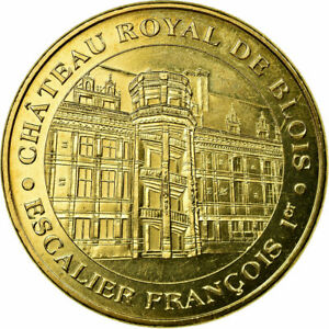 France Diligent #686727 Token Touristic Token Chateau Royal -escalier Blois Arts Complete In Specifications