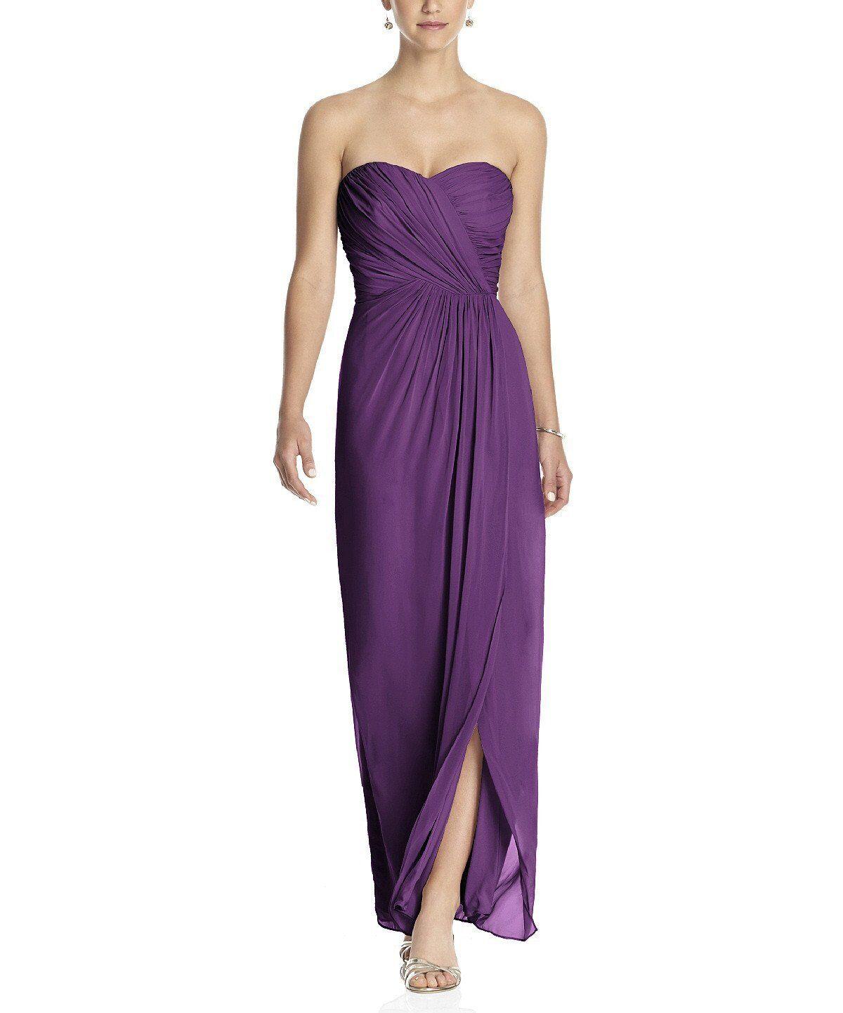 2 Dessy Collection Vivian Diamond Size 2 Prom Homecoming Bridesmaid Dress Auberg