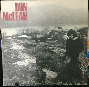 DON-McLEAN-Self-Titled-Album-Released-1972-Record-Vinyl-Collection-USA