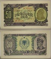 ALBANIA 50 LEKE 1957 ( PICK #29 a ) #B1545