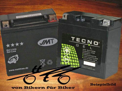 15PS Gel Batterie Piaggio//Vespa GTX 125 4T Super Hexagon 12 Zoll  BJ 2000-2002