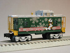 LIONEL SILVER BELL CABOOSE train christmas holiday o gauge 6-30205 pole 6-36192