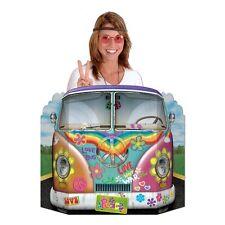 Hippie Camper Van Bus Photo Prop - 94 x 64cm - Sixties Party Decortaion Cutouts