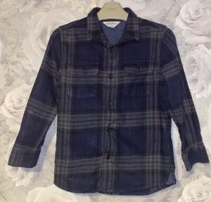Boys Age 7 (6-7 Years) Long Sleeved Shirt