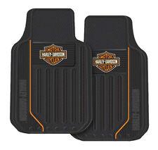 harley davidson motorcycle floor mats rubber car truck auto color shield bar