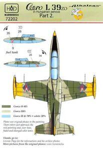 Hungarian-Aero-Decals-1-72-AERO-L-39-ZO-ALBATROS-Hungarian-Air-Force-Service