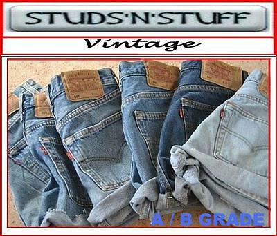 Vintage Womens Levis Denim High & Mid Waist cut off  Shorts , Hotpants 4 6 8 10