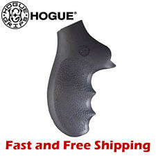Hogue Grip Ruger SP101 5-Shot Revolver Soft Rubber Monogrip w/ Finger Grooves