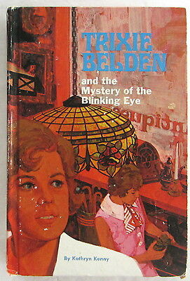 Trixie Belden #12 Mystery of the Blinking Eye Kathryn Kenny Hardcover