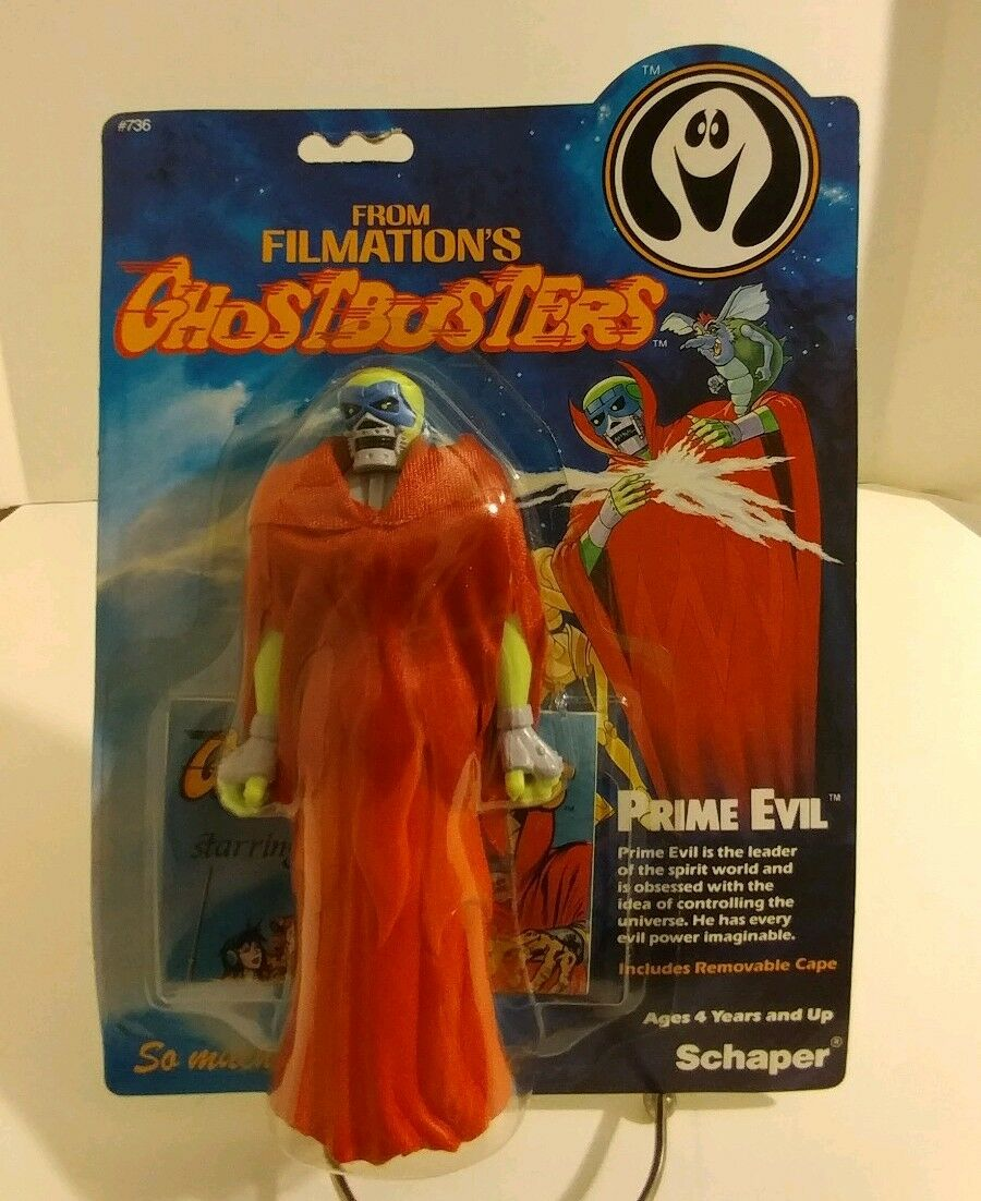 Filmation Ghostautoautobusters Prime Evil SEALED    MOSC MOC  Schaper 1986 AFA Ready    all'ingrosso a buon mercato