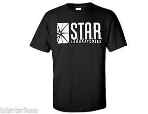 77982ad3 Star Laboratories S.T.A.R Lab The Flash DC Comics TV Series Mens T ...