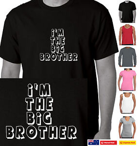 hot-selling sneakers modern techniques Funny T-Shirt I'm the Big Brother t shirt Family sister ...