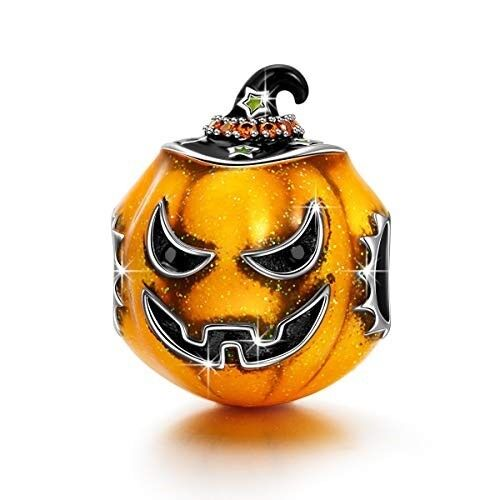 Halloween Charms 925 Halloween Pumpkin Bracelet Gifts for WOMEN WIFE GIRLFRIEND