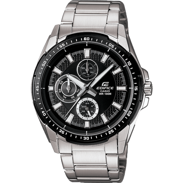467f369cc Casio Edifice Gents Silver Stainless Steel Bracelet EF-336DB-1A1VUEF Mens  Watch
