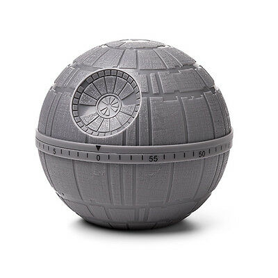 Disney Official Star Wars Death Star Kitchen Timer Up to 60 Minutes Bell Alarm