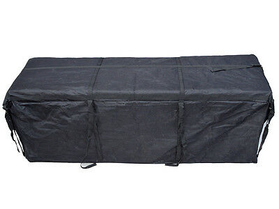 """Expendable 58"""" Cargo Carrier Bag Weather-Resistant Hitch Mount Luggage Roof Rack"""