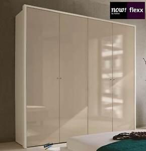 now by h lsta flexx kleiderschrank 4 t rig neu ebay. Black Bedroom Furniture Sets. Home Design Ideas