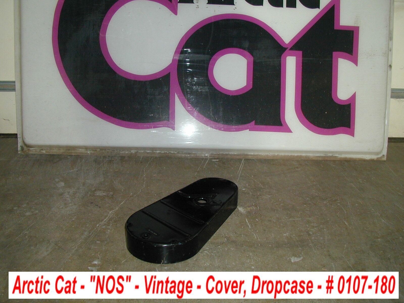 Arctic Cat Dropcase Cover Vintage NOS Chaincase