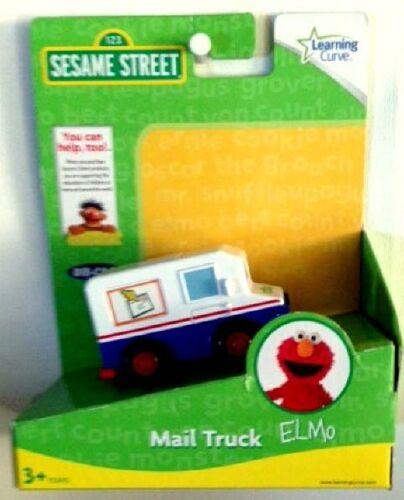 2010 Sesame Street Elmo Mail Truck Diecast Learning Curve 3