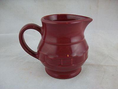Longaberger Pottery Creamer Paprika Red