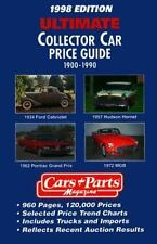 Ultimate Collector Car Price Guide 1900-1990: 1998 Edition-ExLibrary