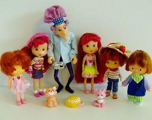 Strawberry Shortcake Doll Bundle-afficher Le Titre D'origine Renforcement Des Nerfs Et Des Os