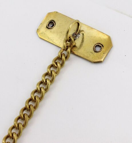 """8""""l Solid Brass Anchor Chain Porthole Accessories Mounts Nautical Home Decor"""