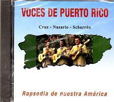 TRIO VOCES DE PUERTO RICO - RAPSODIA DE NUESTRA A -CD