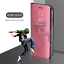 miniatura 22 - Funda con tapa para Huawei P40 Pro+ Lite P Smart 2020 inteligente Espejo carcasa