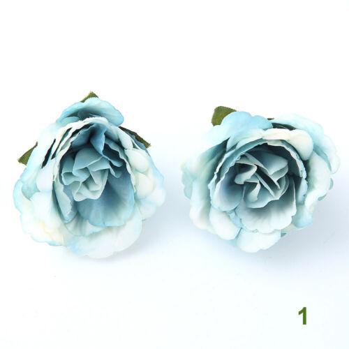 Scrapbooking  DIY Craft Blossom  Mini Silk  Flower head Artificial Flowers